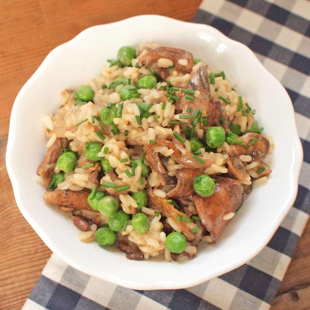Zobrazit Krémové houbové rizoto receptů