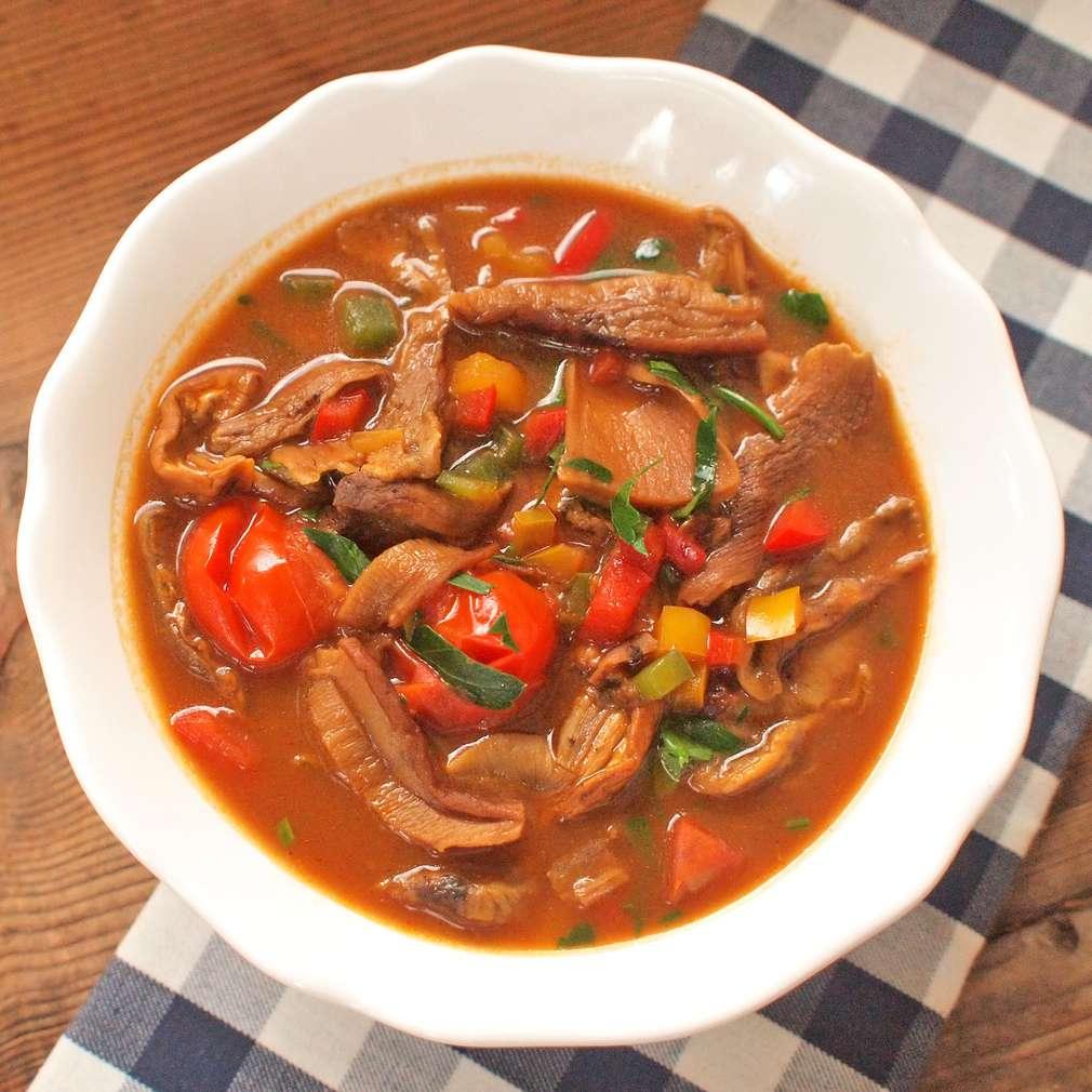 Zobrazit Letní houbová polévka receptů