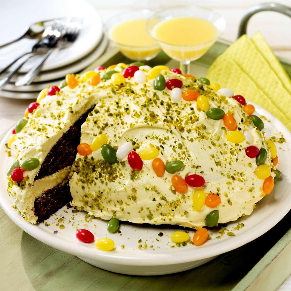 Abbildung des Rezepts Ostereikuchen mit Eierlikör