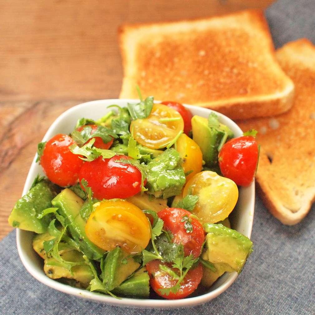 Zobrazit Salát s avokádem do krabičky receptů