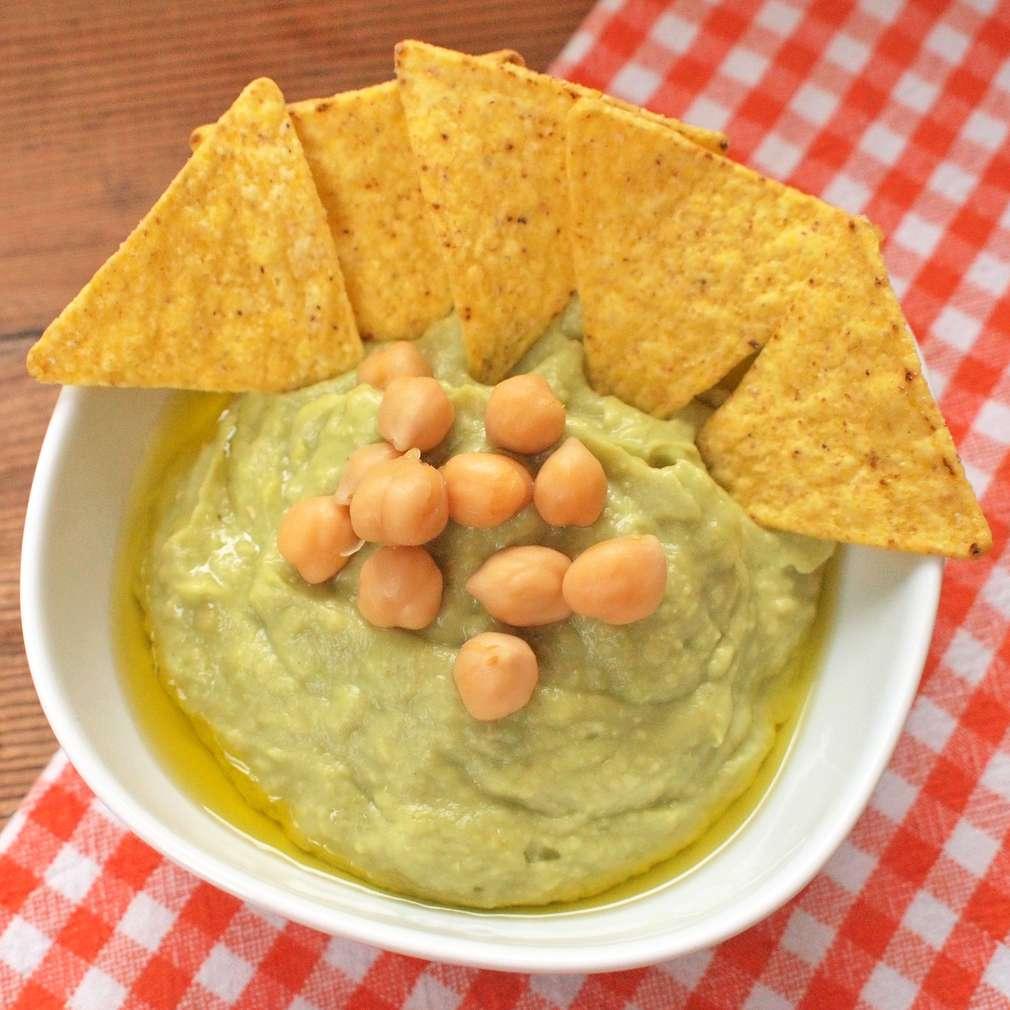 Zobrazit Hummus s avokádem receptů