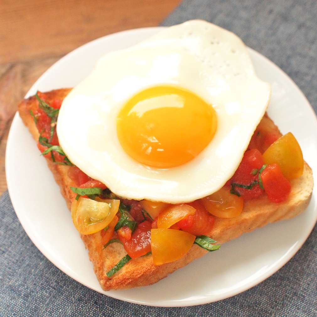 Zobrazit Rajské toasty s vejcem receptů
