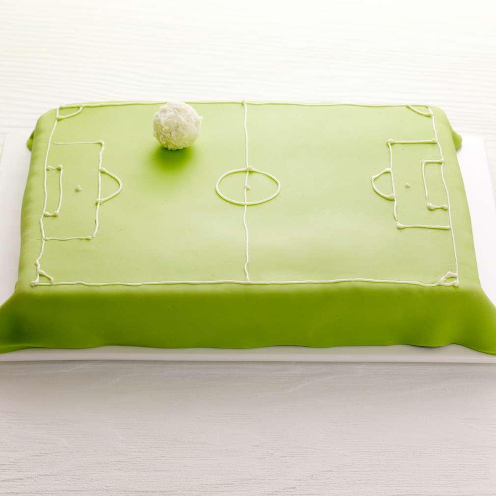Abbildung des Rezepts Fußballfeld-Kokostorte
