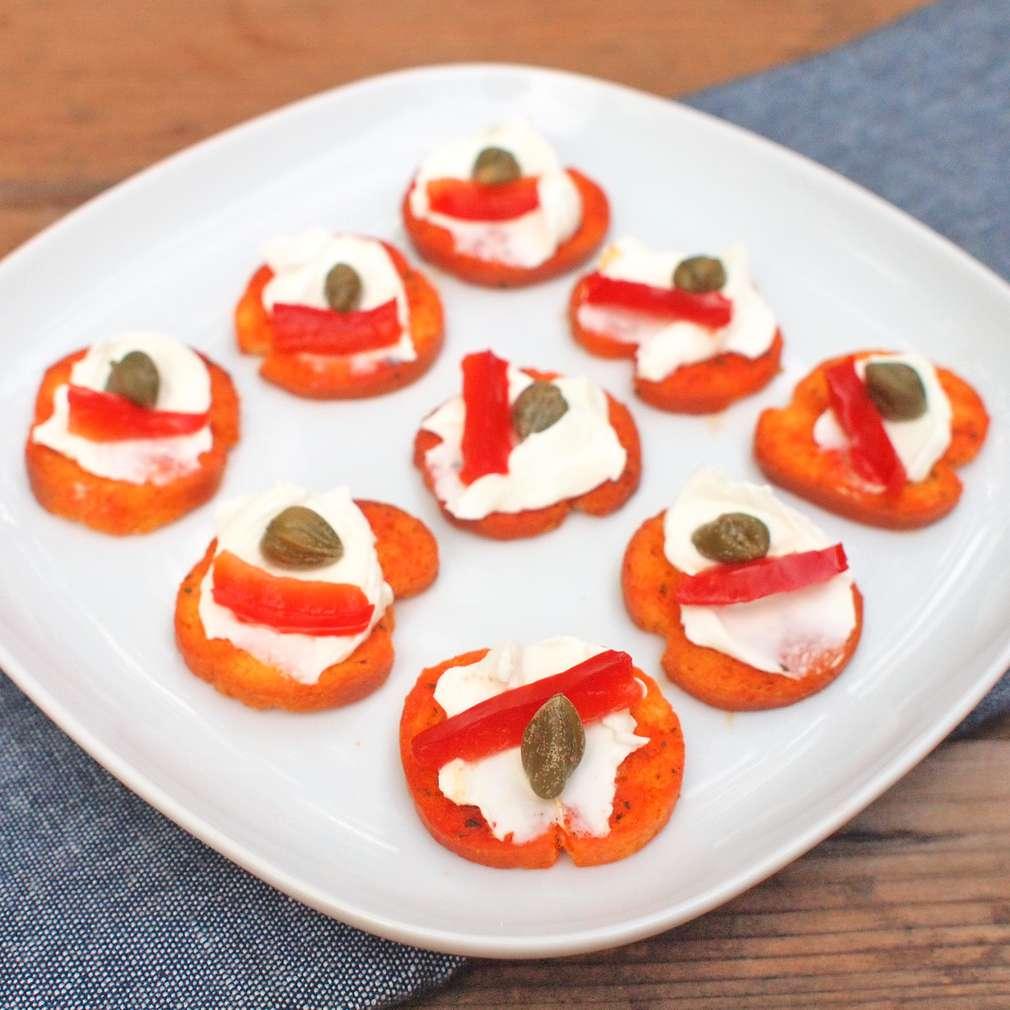 Zobrazit Paprikové chilli krekry receptů
