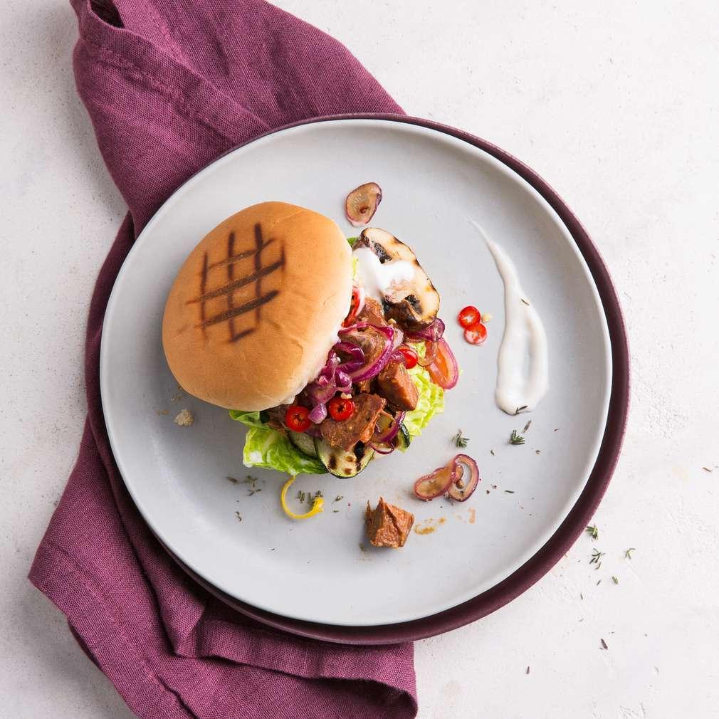 Abbildung des Rezepts Veganer Gemüse-Burger