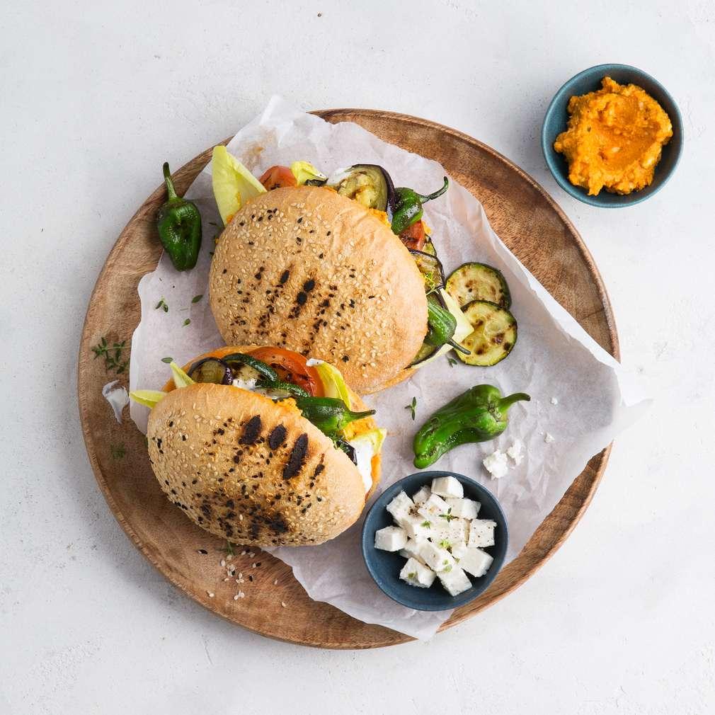 Abbildung des Rezepts Veganer Auberginen-Döner