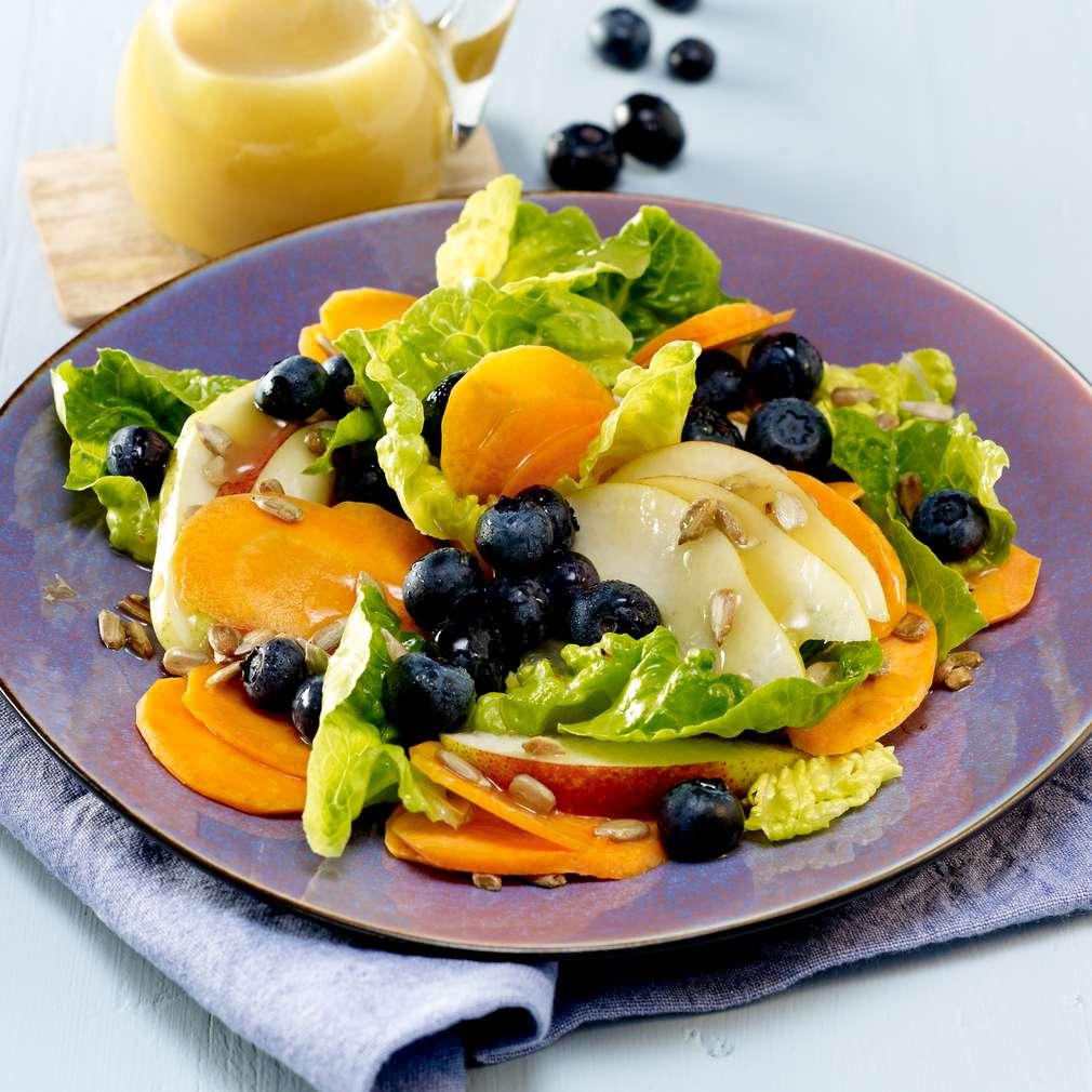 Abbildung des Rezepts Blaubeer-Möhren-Salat
