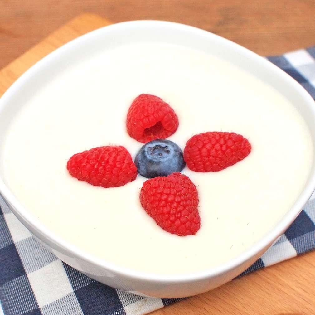 Zobrazit Rýžovo-krupičná kaše s ovocem receptů