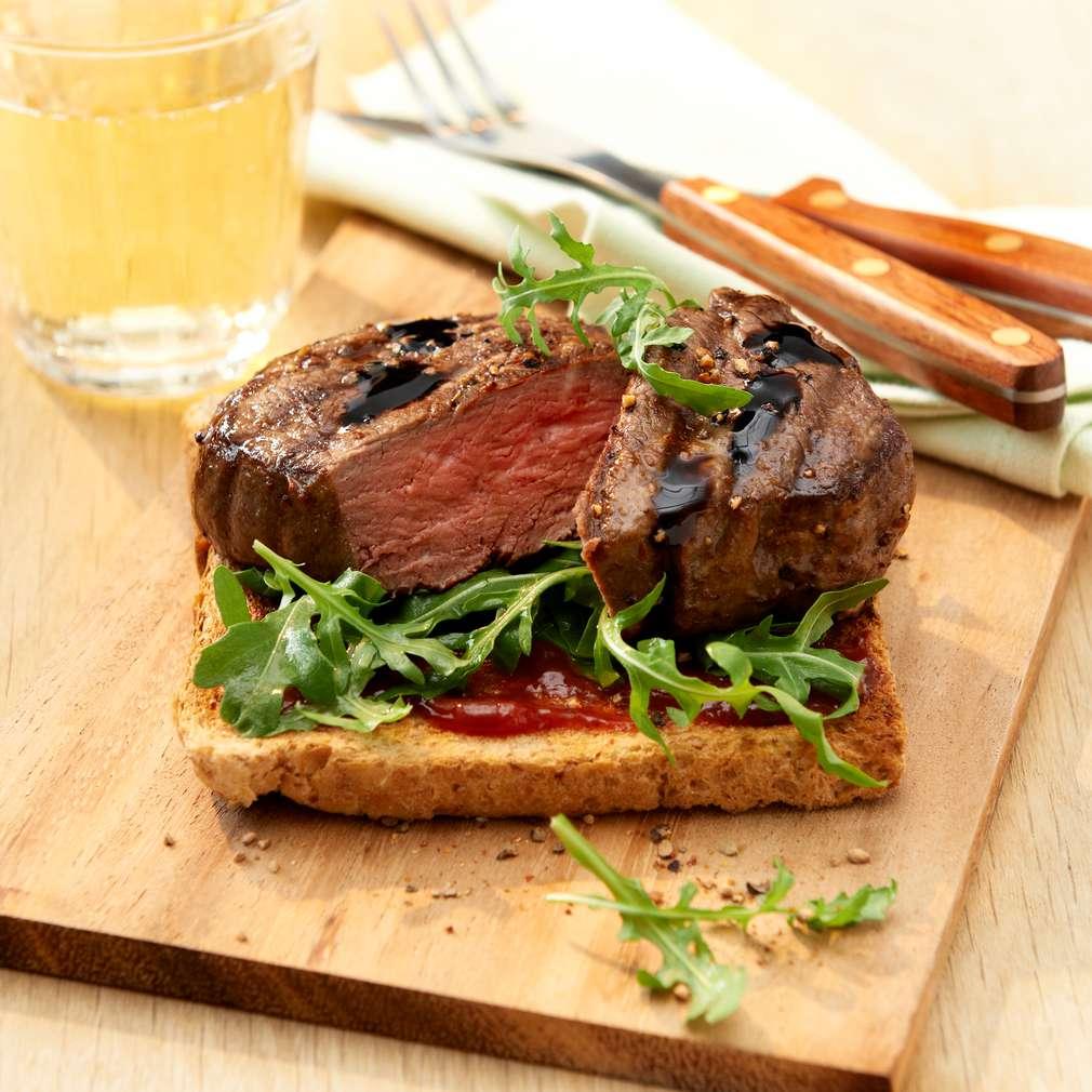 Abbildung des Rezepts Steak-Toast