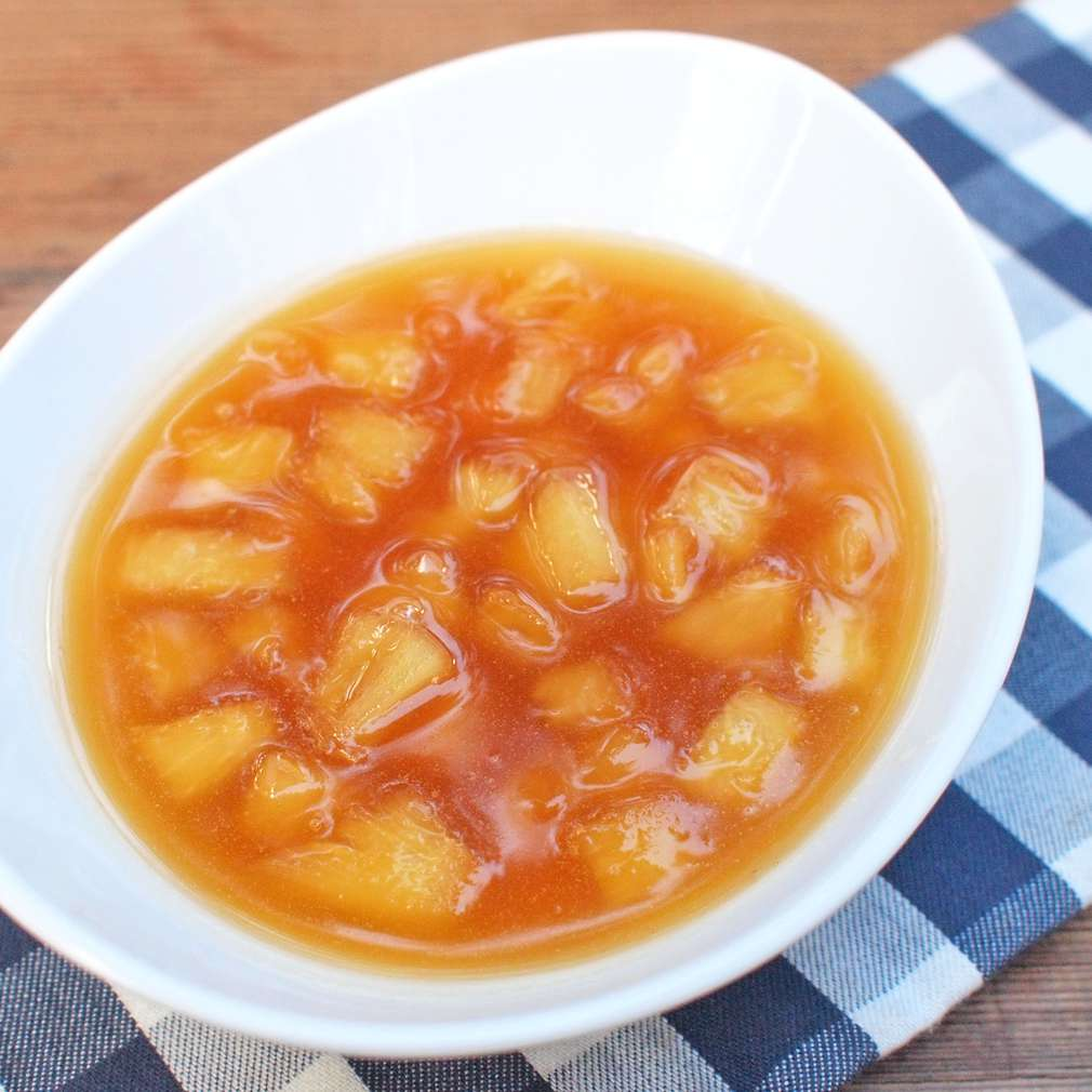 Zobrazit Sladká ananasová omáčka receptů