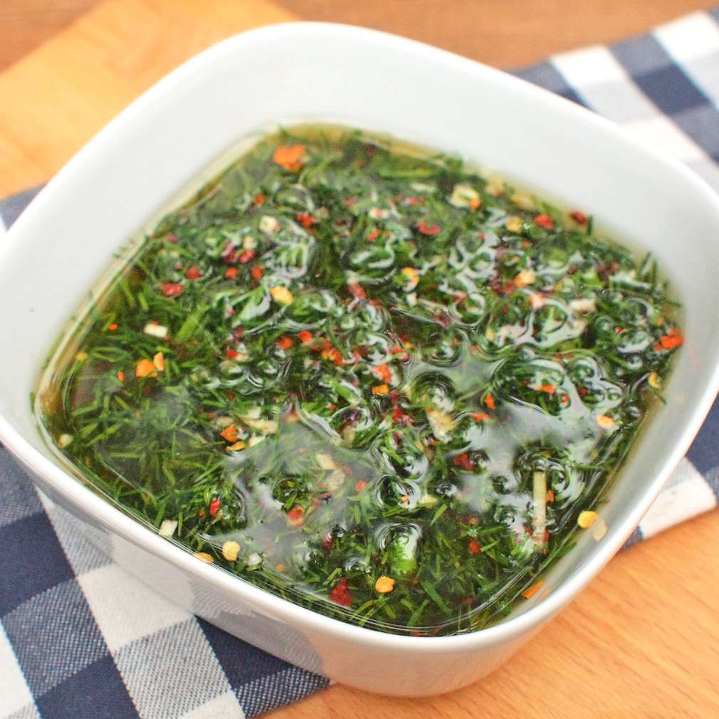 Zobrazit Pikantní koprová marináda receptů