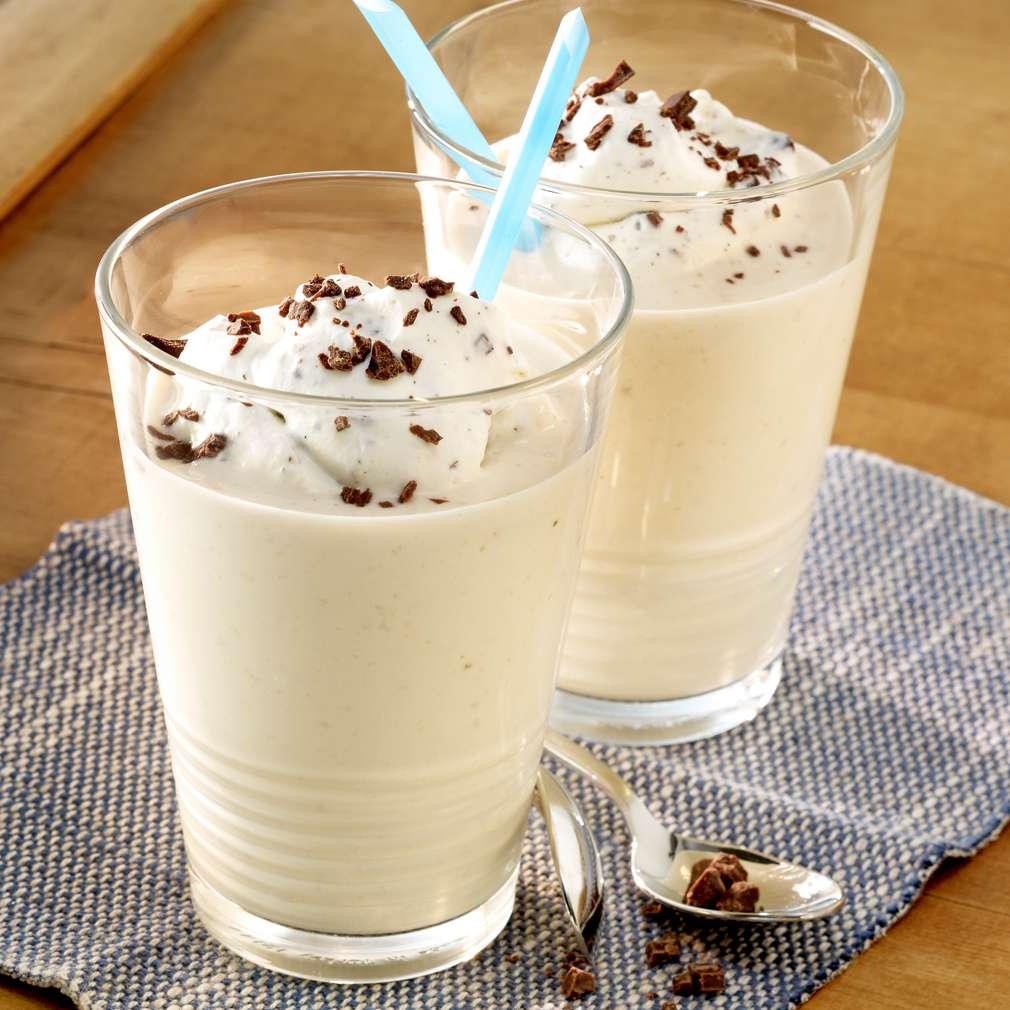 Zdjęcie przepisu Shake bananowo-czekoladowy