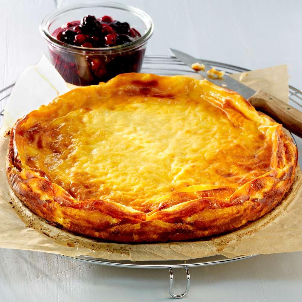 Imaginea rețetei Prăjitură cu brânză fără blat