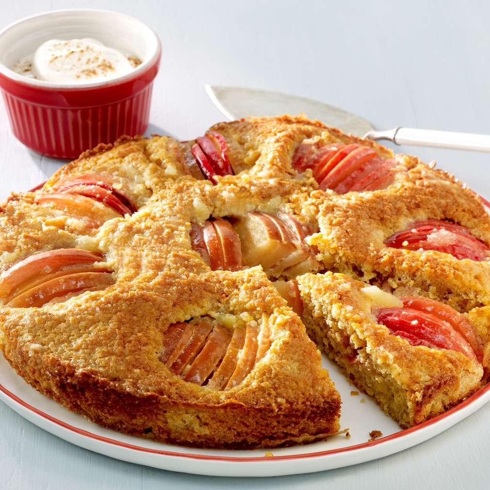 Imaginea rețetei Prăjitură de mere nemțească