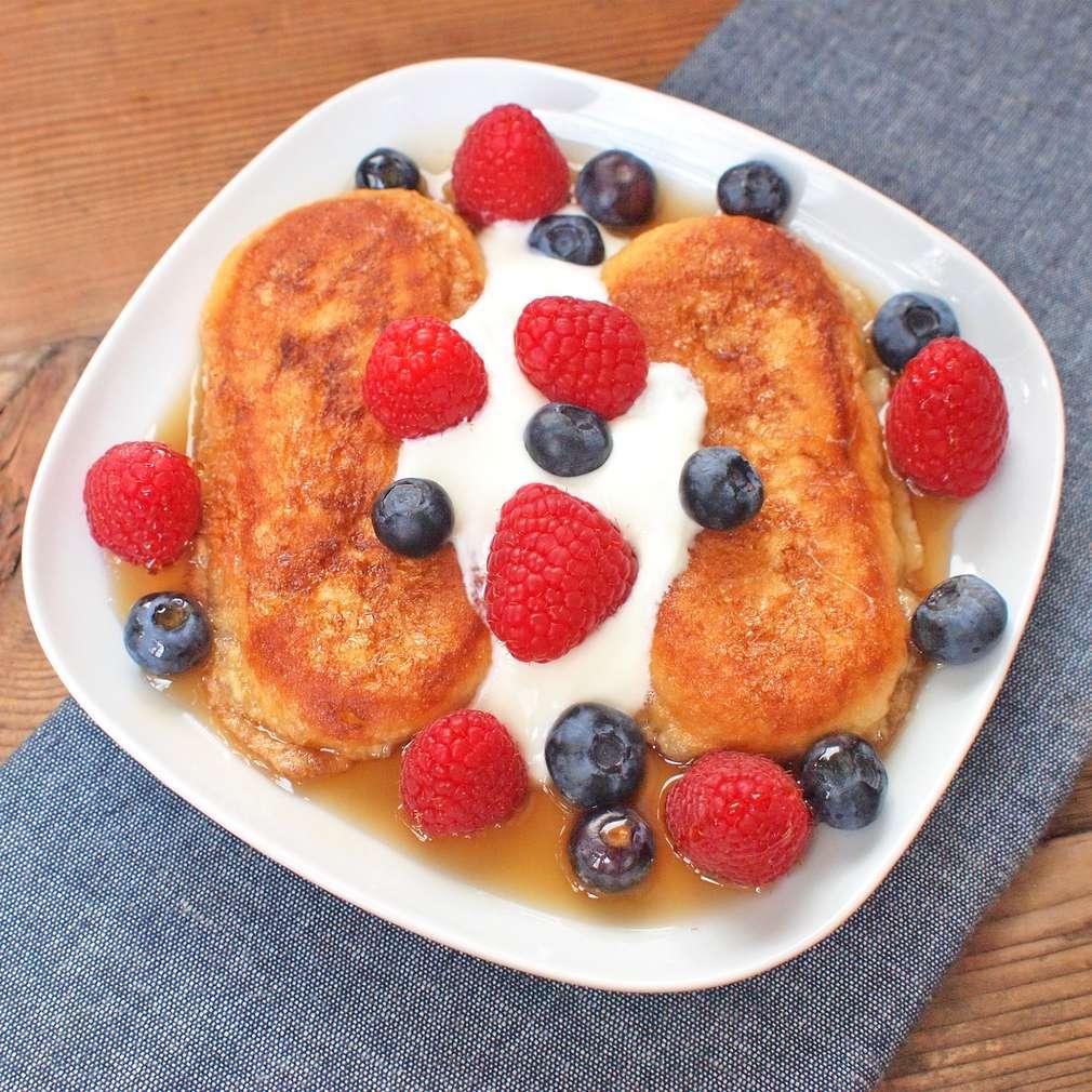 Zobrazit Francouzské toasty s ovocem receptů