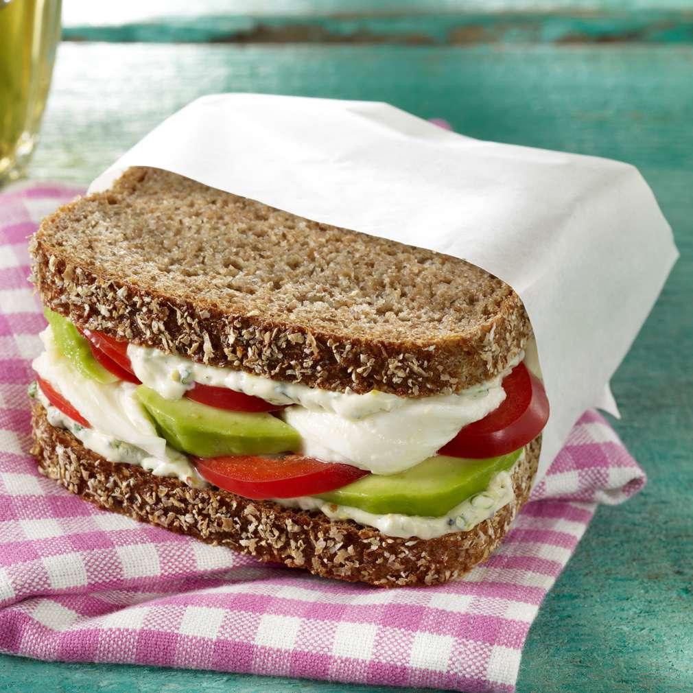 Abbildung des Rezepts Vegetarisches Good-Morning-Sandwich