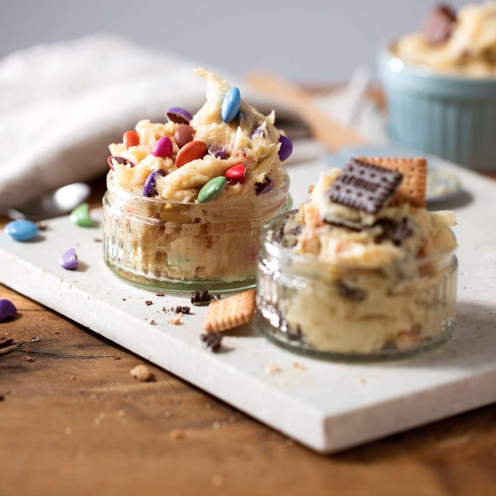 Imaginea rețetei Cookie dough (aluat de biscuiți)