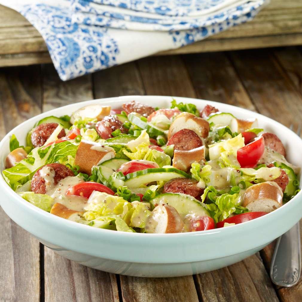 Abbildung des Rezepts Brezel-Salat
