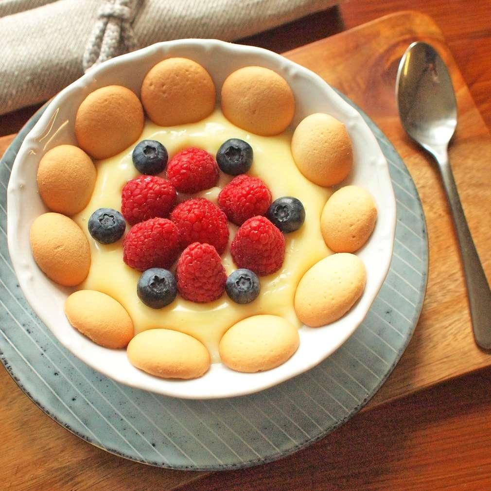 Zobrazit Pudingový pohár s ovocem receptů