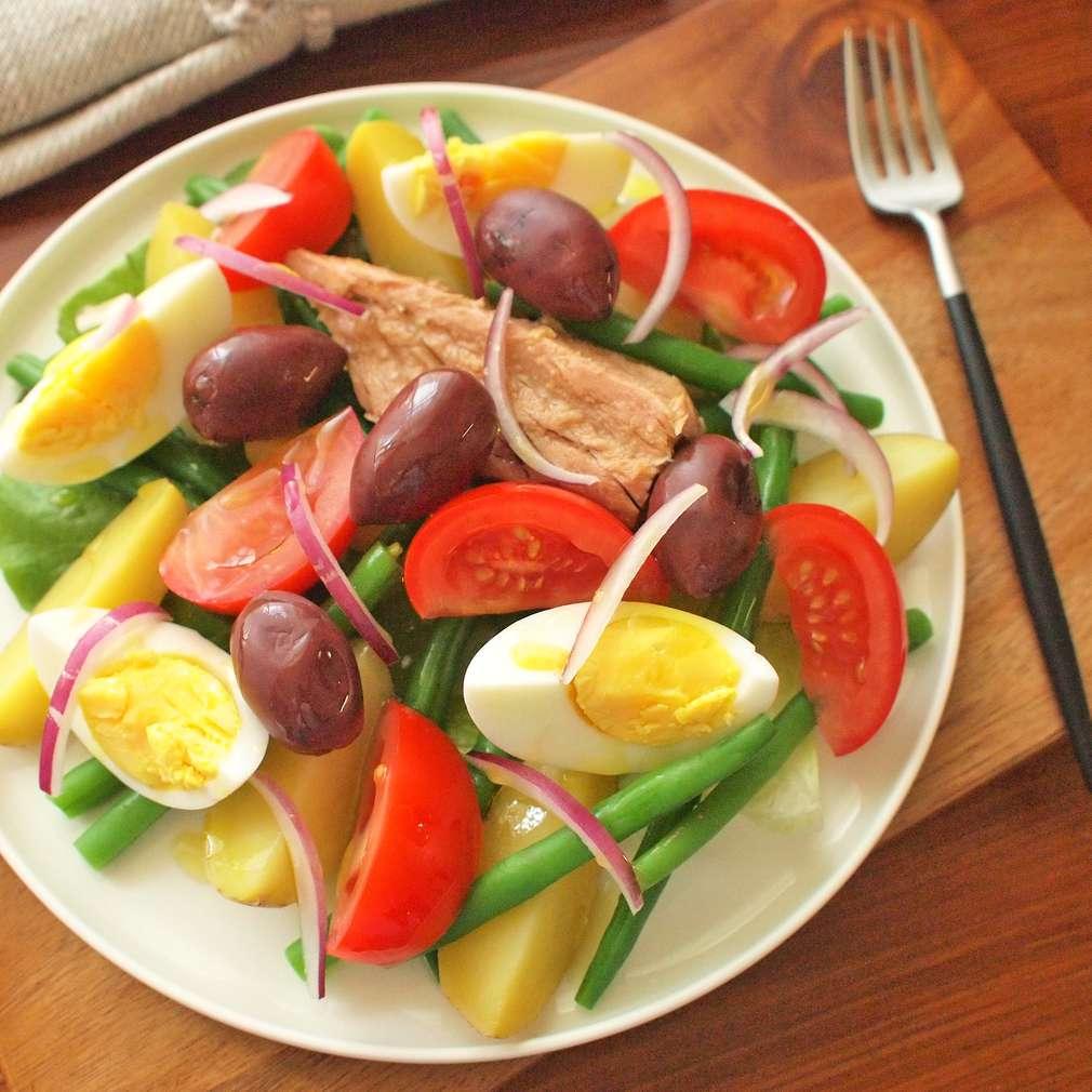 Zobrazit Bramborový salát s tuňákem receptů