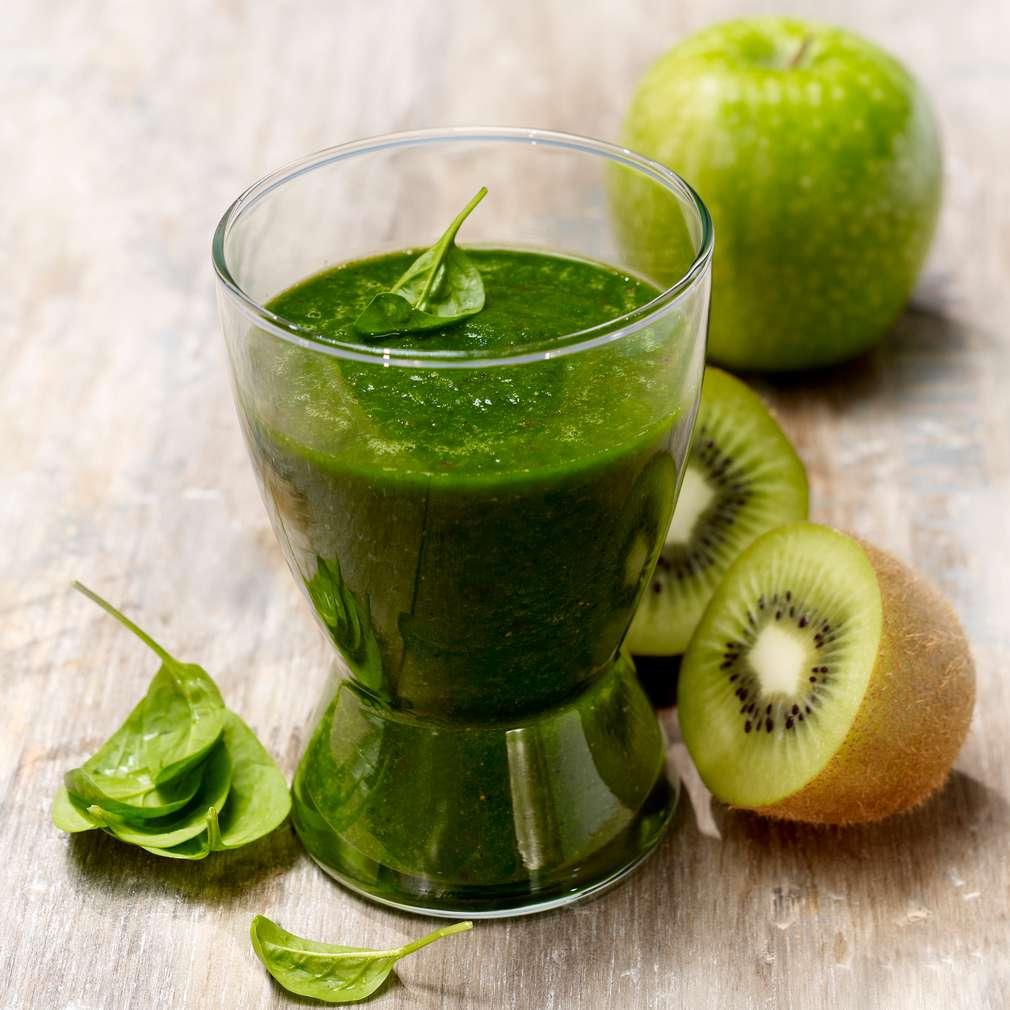 Zdjęcie przepisu Zielone smoothie z kiwi
