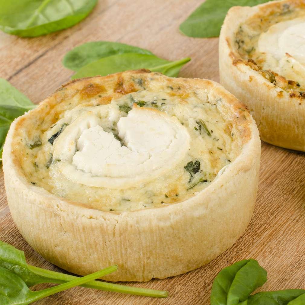 Imaginea rețetei Tarte cu spanac și brânză de capră