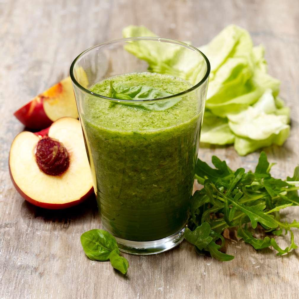 Abbildung des Rezepts Salat-Nektarinen-Smoothie
