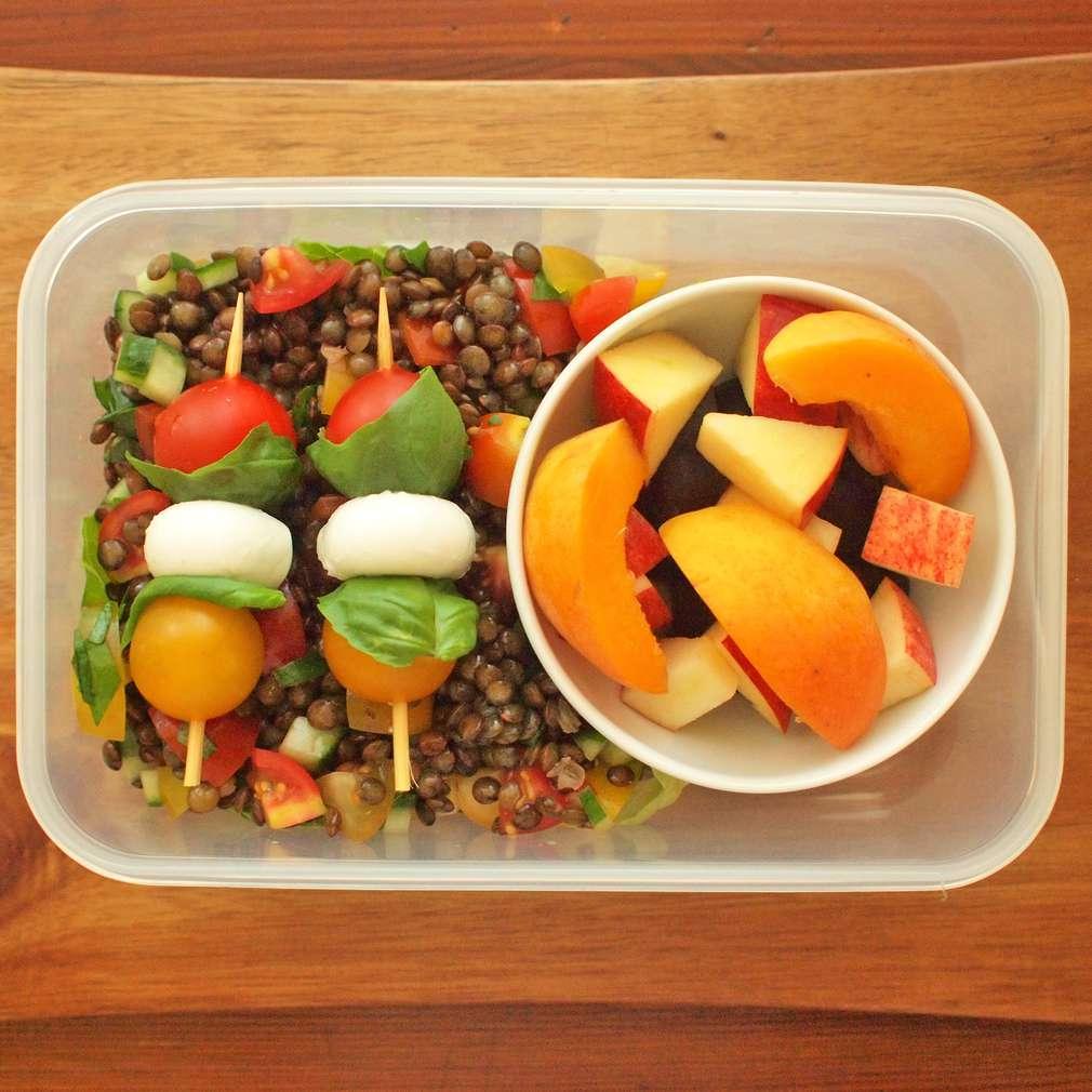 Zobrazit Čočkový salát do krabičky receptů