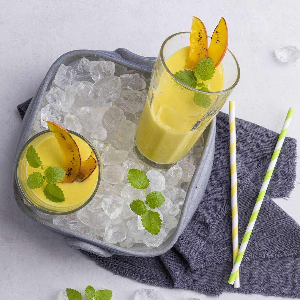 Abbildung des Rezepts Kürbis-Mango-Smoothie