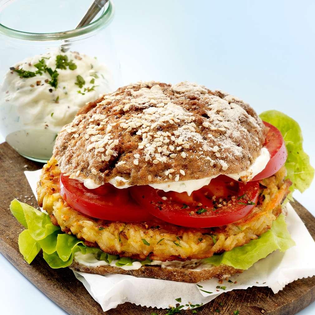 Abbildung des Rezepts Gemüse-Burger