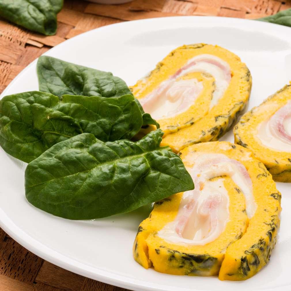 Imaginea rețetei Omletă cu brânză și șuncă