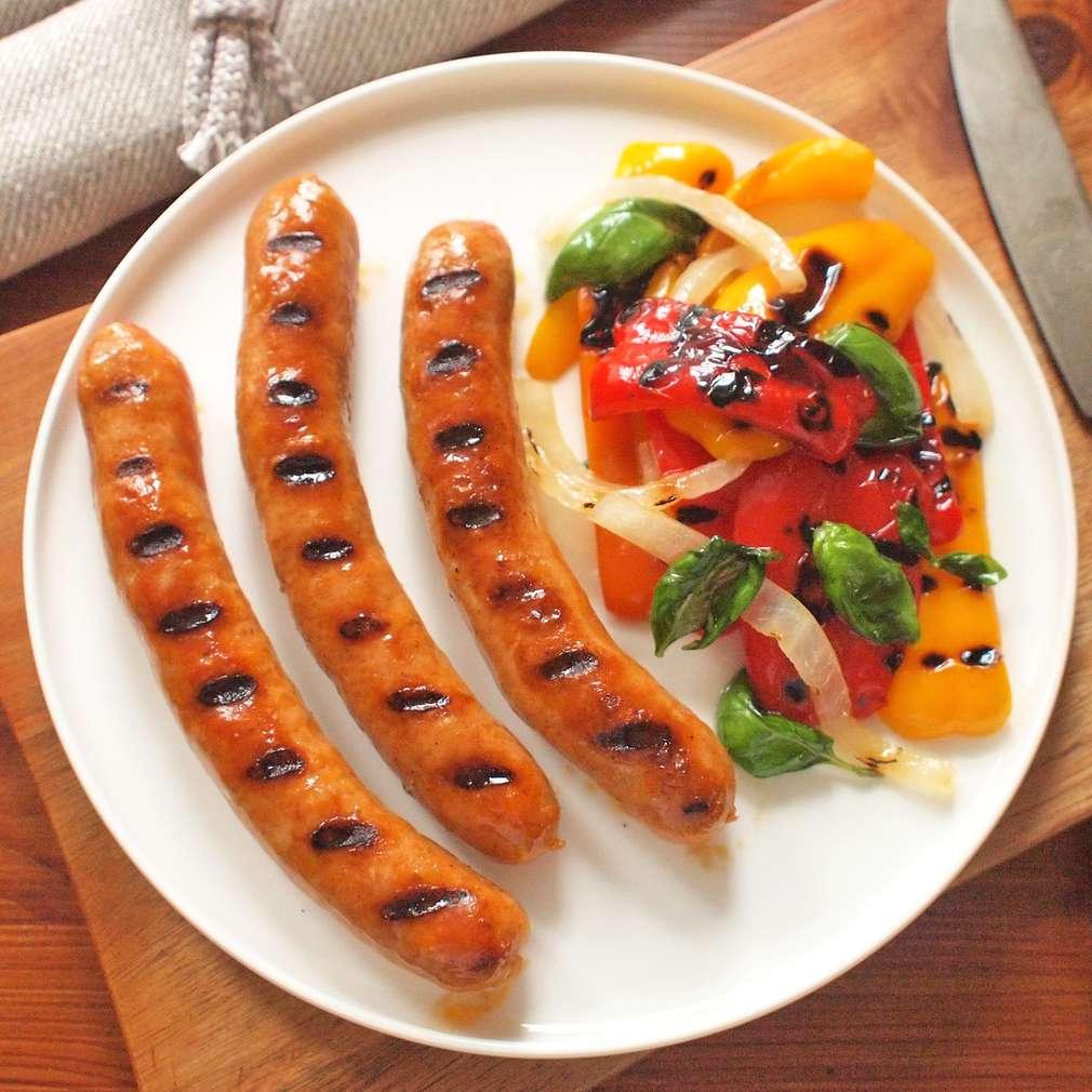 Zobrazit Debrecínské klobásky na grilu s paprikou receptů