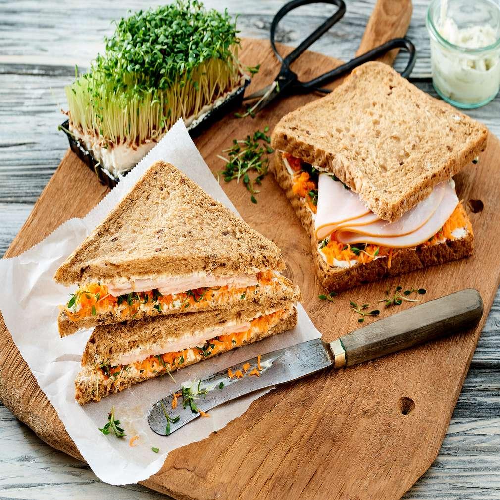 Zobrazit Celozrnný sendvič receptů
