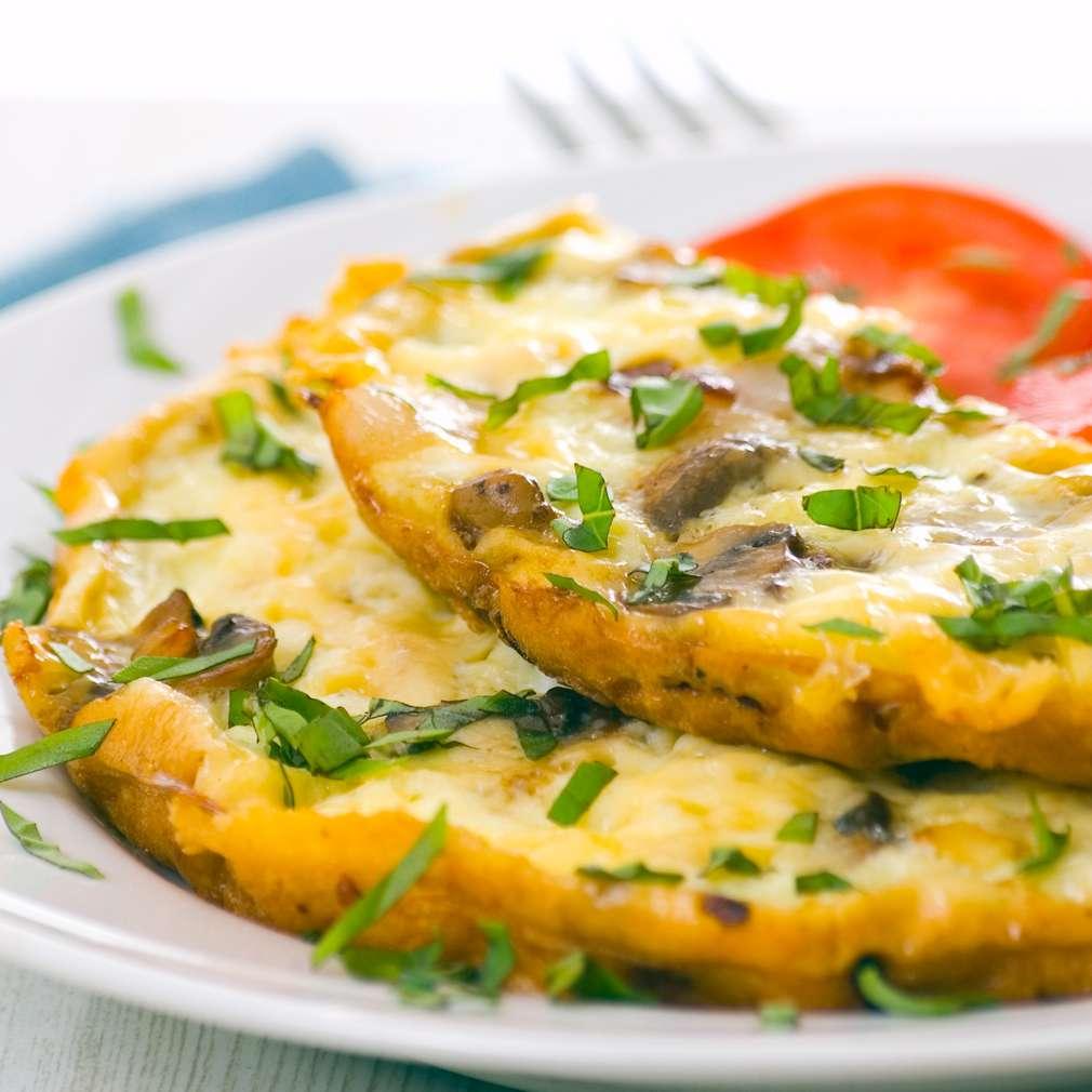Imaginea rețetei Omletă cu ciuperci