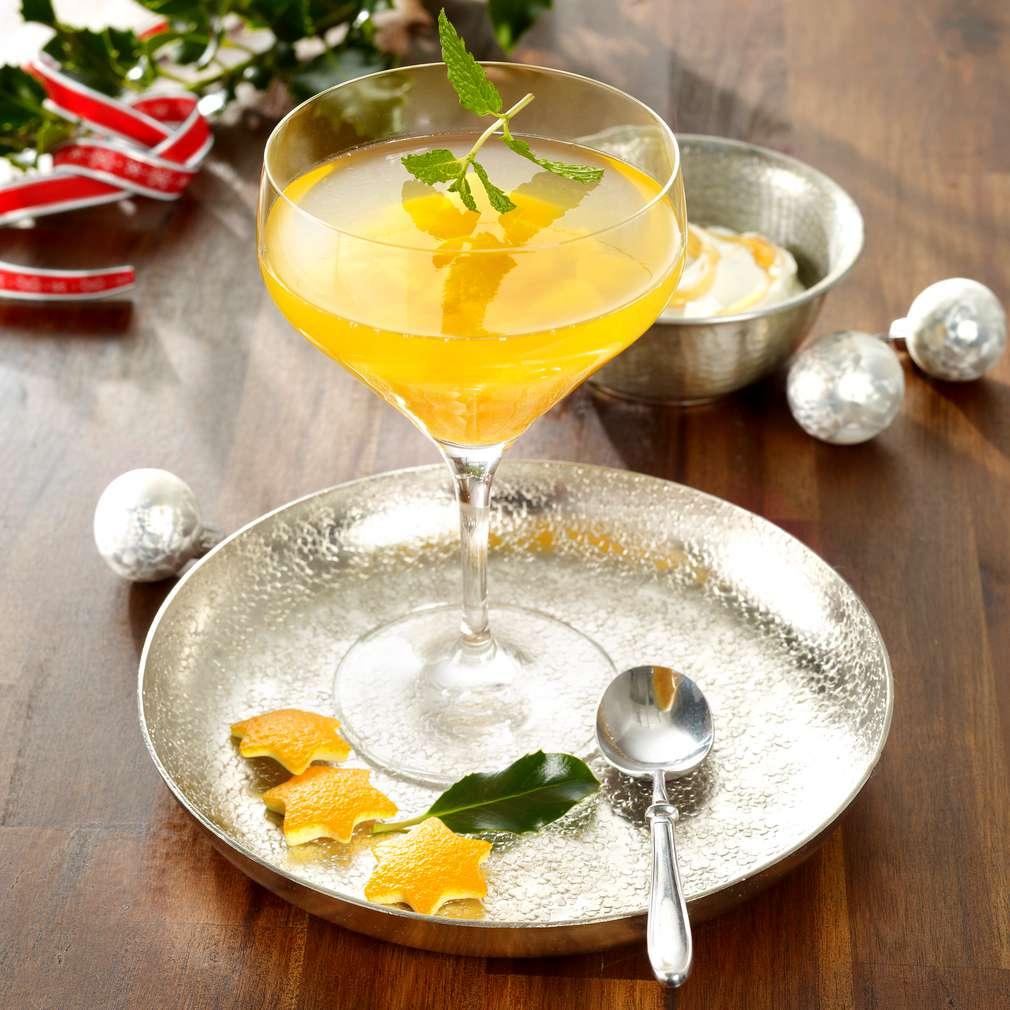 Abbildung des Rezepts Prosecco-Orangen-Gelee