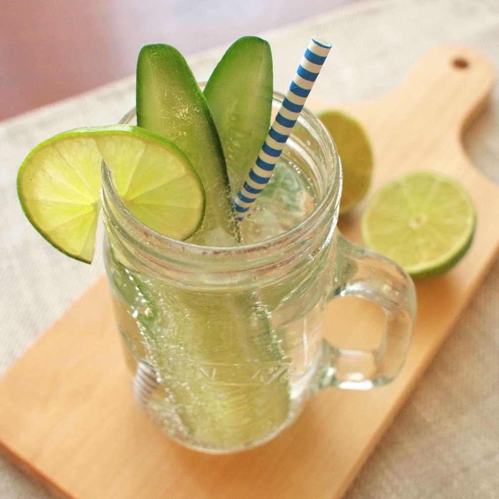 Zobrazit Okurková limonáda s limetkou receptů