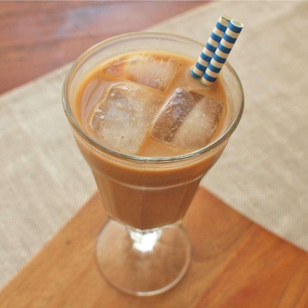 Zobrazit Ledová káva s karamelem receptů