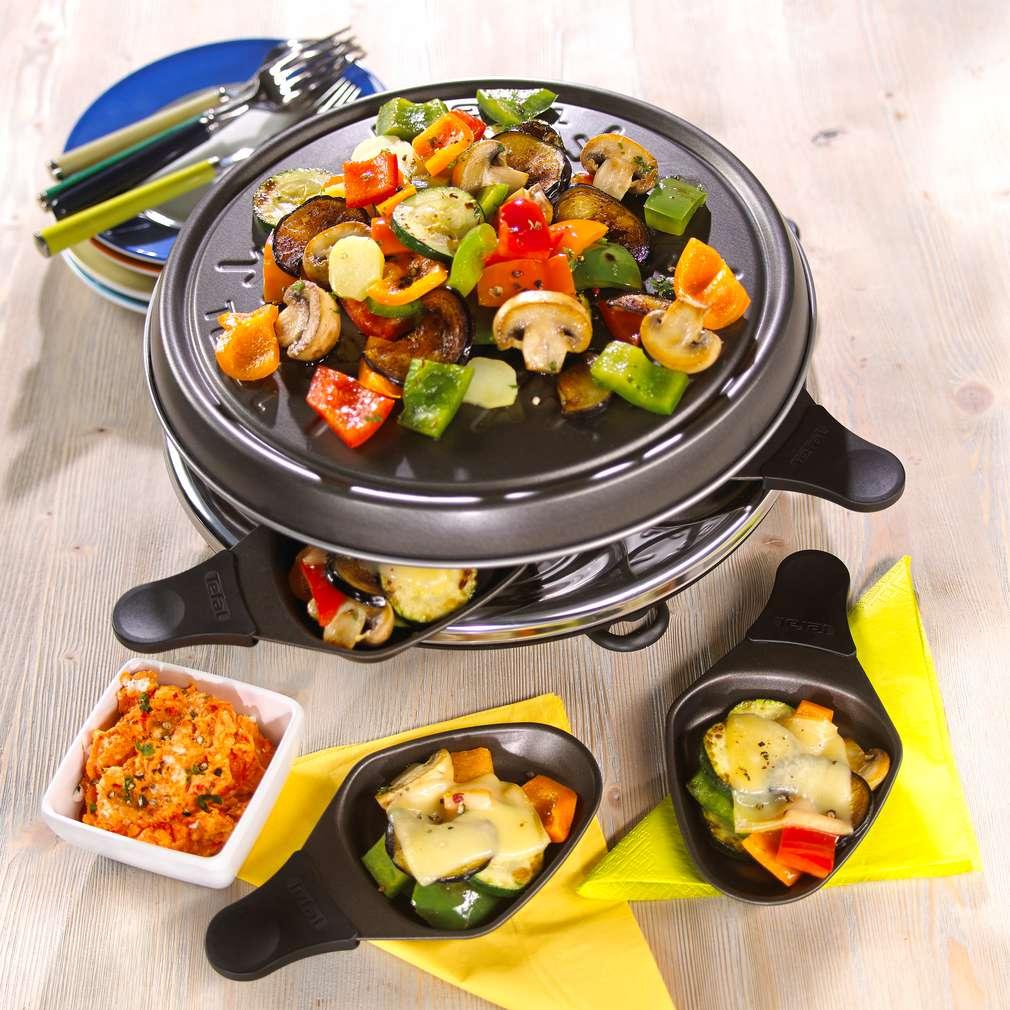 Abbildung des Rezepts Grillgemüse-Raclette