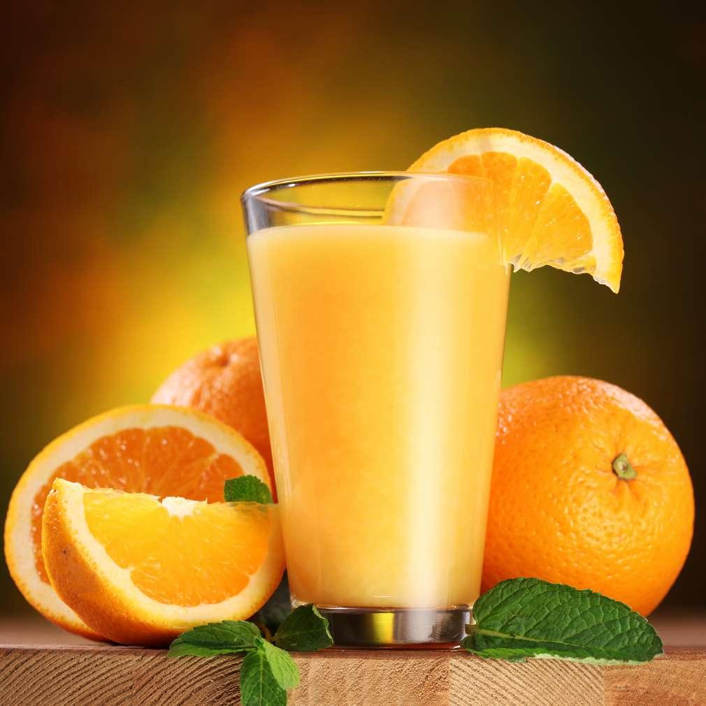 Imaginea rețetei Suc de portocale cu mentă
