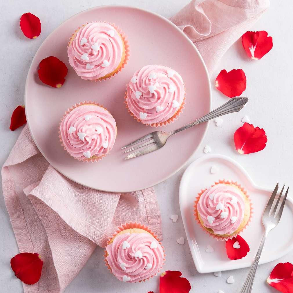 Zdjęcie przepisu Muffinki Kocham Cię
