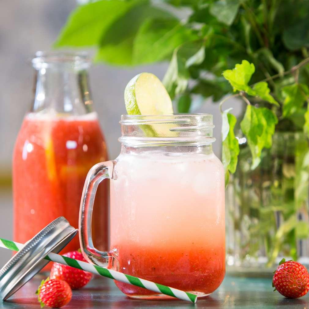 Изобразяване на рецептата Ягодова лимонада