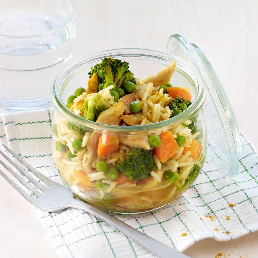 Fotografija recepta Curry s povrćem