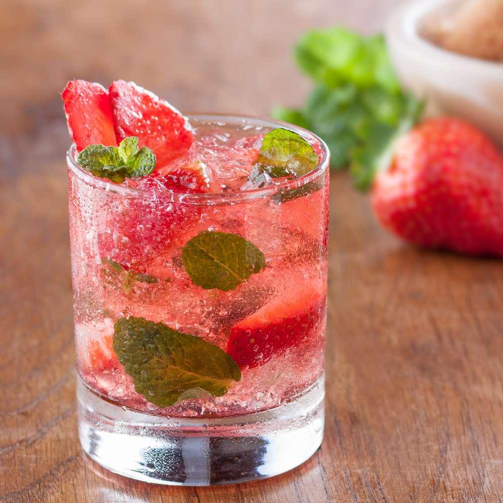Imaginea rețetei Granita de căpșune