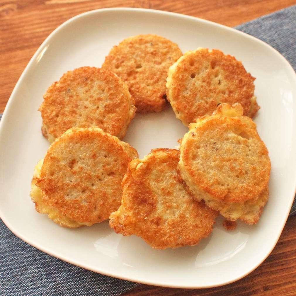 Zobrazit Sýrová kolečka ve vajíčku receptů
