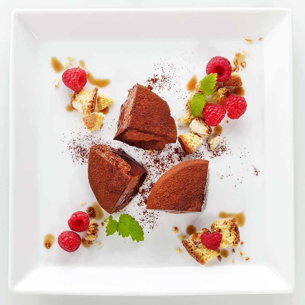 Abbildung des Rezepts Tartufo Cioccolato mit Cantuccini