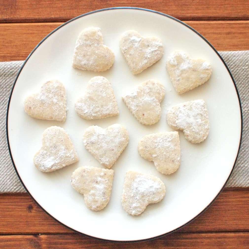 Zobrazit Ořechová srdíčka receptů