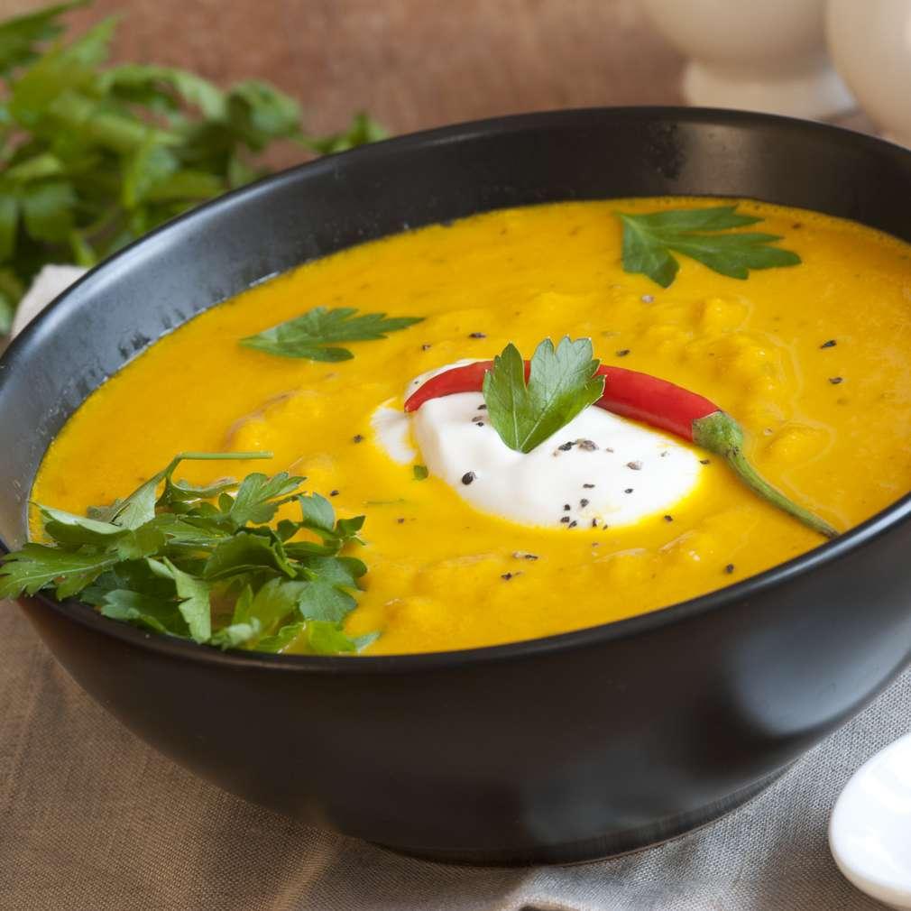 Imaginea rețetei Supă cremă de dovleac copt