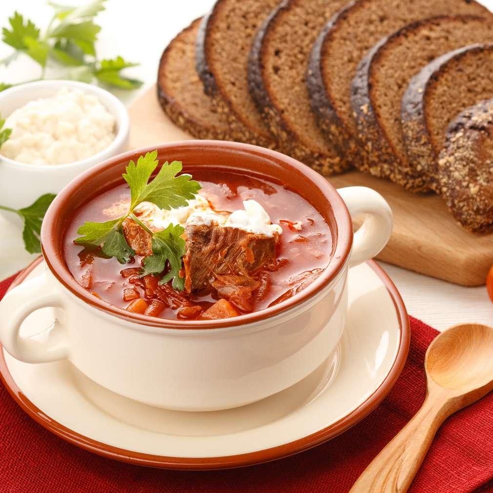 Imaginea rețetei Supă de roșii