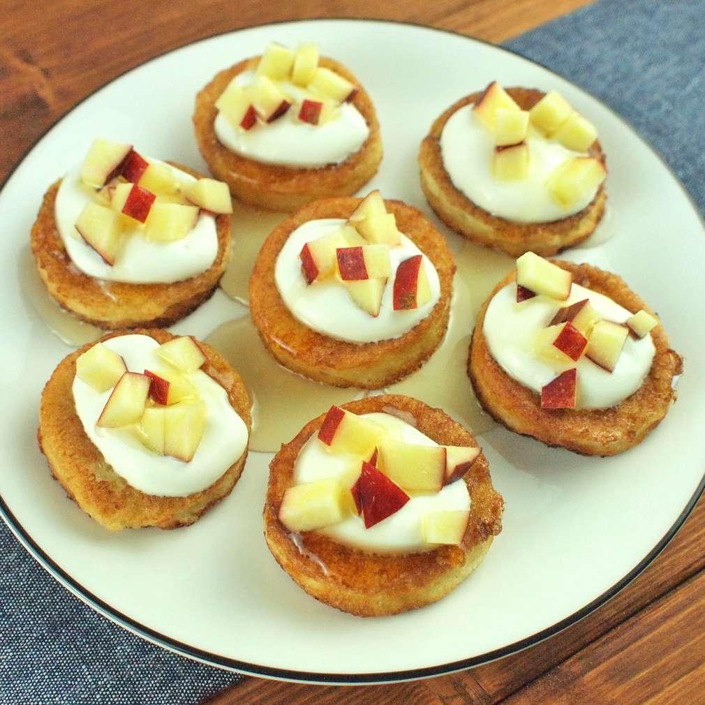 Zobrazit Mini francouzské toasty s jablky receptů