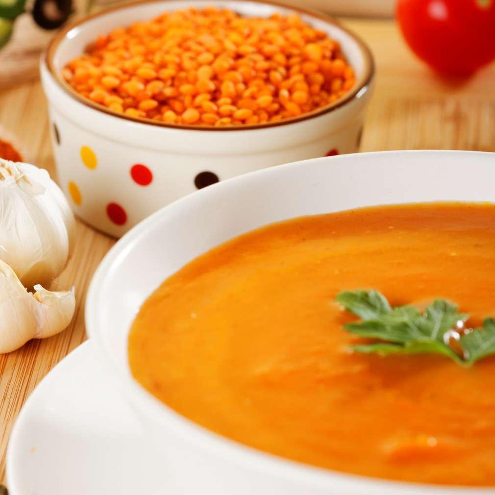 Imaginea rețetei Supă cremă de linte
